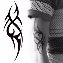 Stylish 3D Man's Half Sleeve Arm Temporary Totem Tattoo Stickers Body Art Tatoo