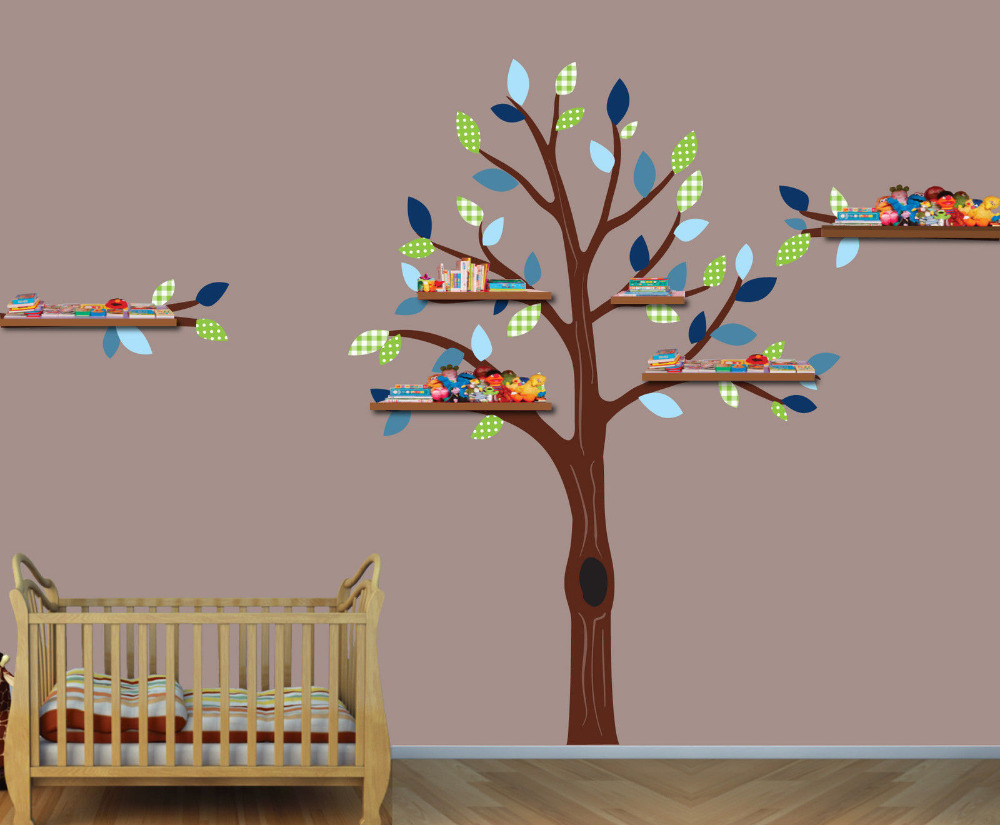 Tree Decals Boys Room Wall Stickers