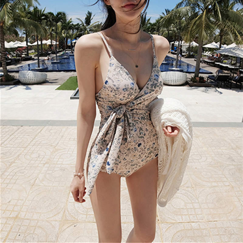 Push Up Swimsuit One Piece Womens Sexy Swimwear 2018 Hot Printing Swim Wear Beach Bandage Bathing Suit Monokini Bodysuit black lace up swimsuit one piece swimwear women 2017 female backless bandage lace bathing suit swim wear beach monokini bodysuit