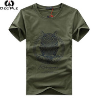 Plus Size T Shirt Men O Neck 2015 Summer Style Fashion Pattern Men S Slim T