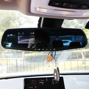 HD DVR Camera Auto 4.3 Inch Rearview Mirror Digital Video Recorder Dual Lens Registratory Camcorder Dropshipping