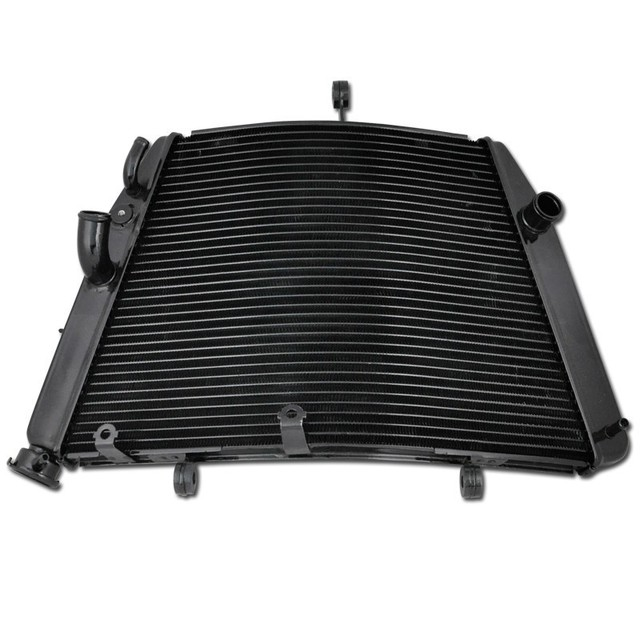 US $172 9 9% OFF|For Suzuki GSXR600 GSXR750 2006 2014 GSX R600 GSX R750 06  14 GSXR 600 750 Motorcycle Aluminium Parts Cooling Radiator Cooler -in