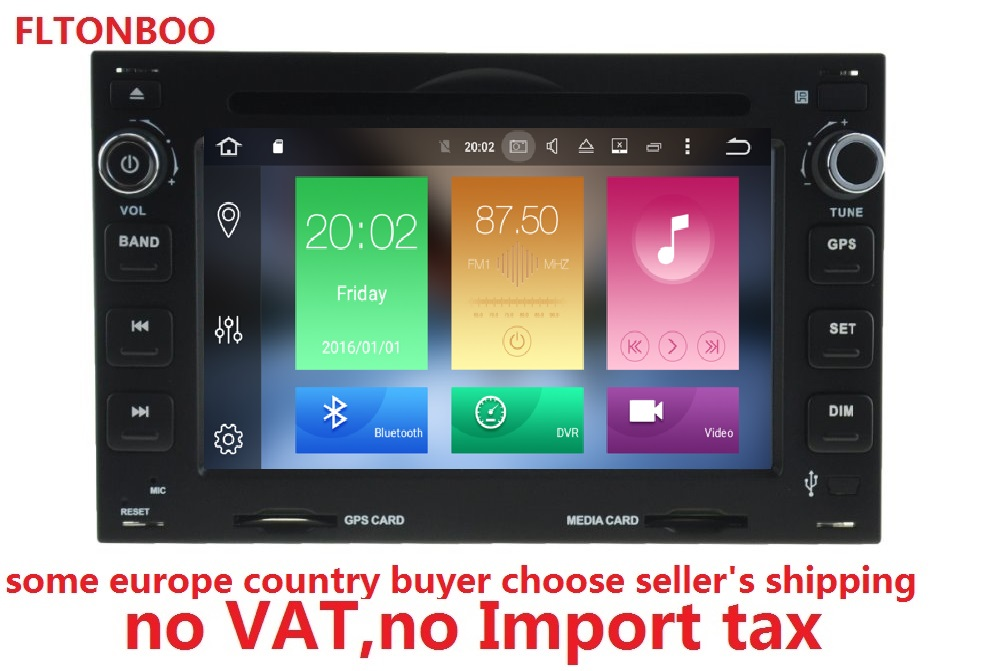 6.2 pouces 4 GB RAM 32 GB ROM android 8.0 voiture gps navigation pour Peugeot 307, wifi, 3g, octa core