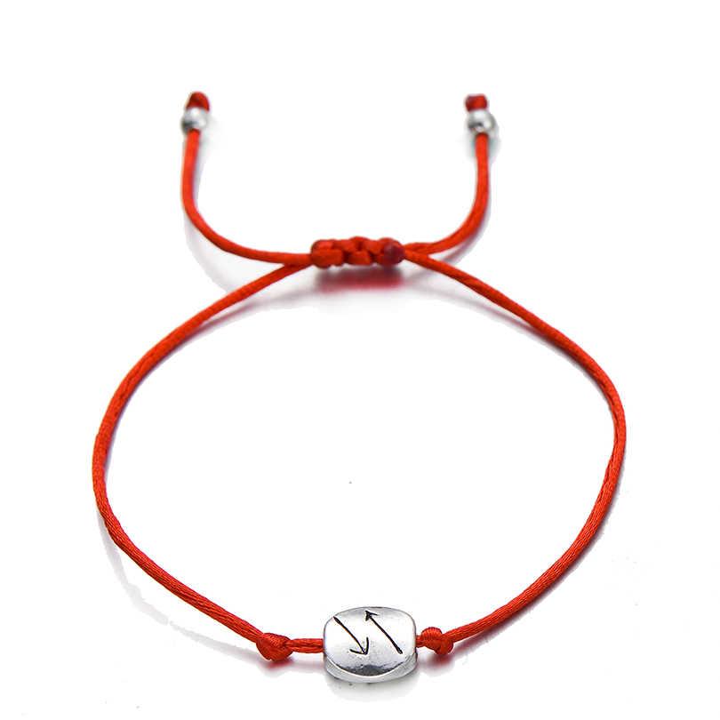 Pipitree 2 шт./компл. один для вас, один для меня пара навечно Браслеты для любителей Для женщин Для мужчин ярко-красного цвета шнур браслет желаний, ювелирное изделие, подарок