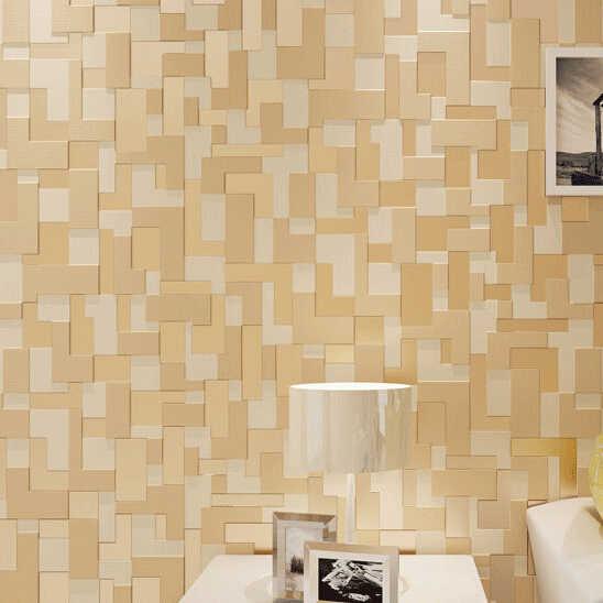 3d Papel دي parede للماء عادي فسيفساء ورق حائط لغرف النوم 3d جدار لفات/ بكرات ورقية التلفزيون خلفية 3d أغطية الجدران ديكور المنزل