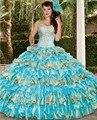 2016 elegante Quinceanera Vestidos De Vestidos De Quinceaneras Abiti doce 16 Debutante Quinceanera