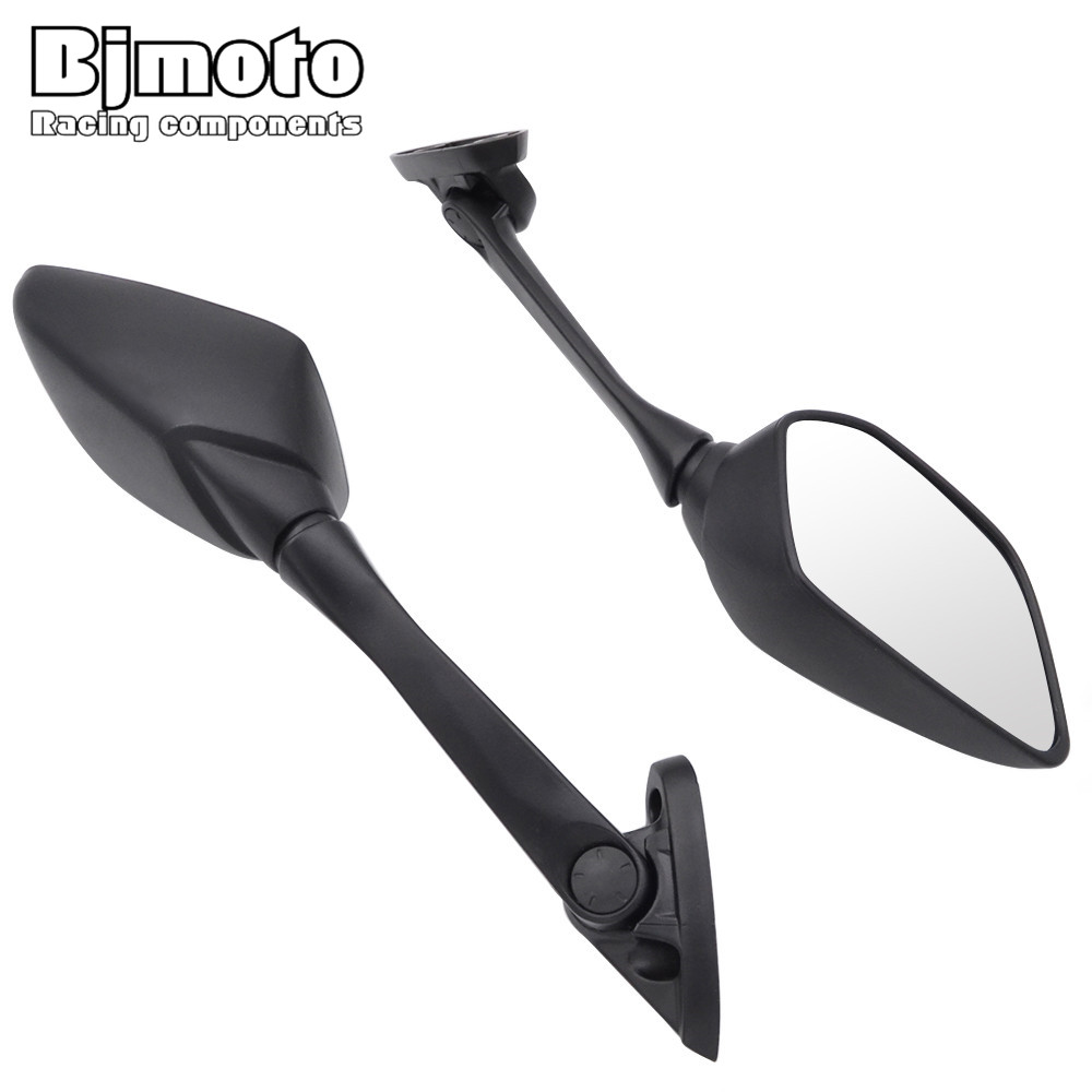 цена на BJMOTO Motorcycle Side Rear view Mirror Blind Spot Rearview Mirrors For YAMAHA YZF R3 2015-2017 R25 2014-2016 YZF-R3 YZF-R25