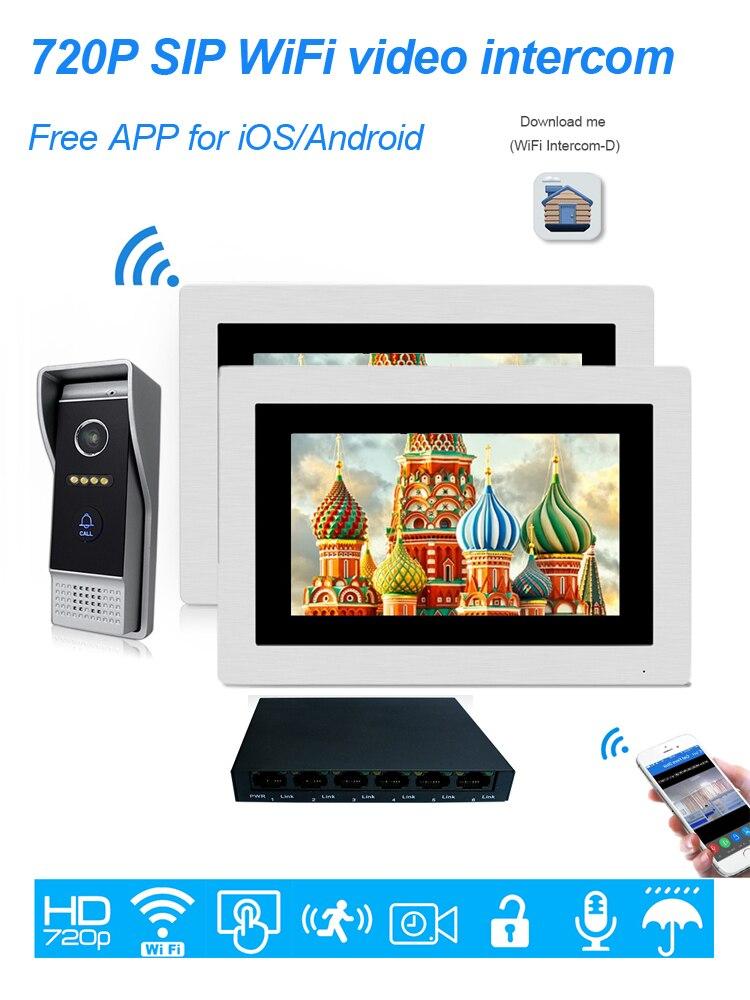 villa video door phone intercom 1-2
