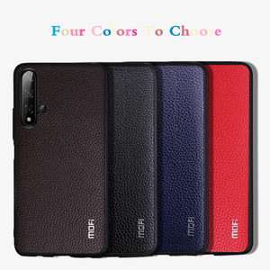 Image 5 - MOFi for Honor 9X Case 9X Pro Cover for Huawei Honor 9X Back Housing Honor9x Coque TPU PU Leather Soft Silicone Full