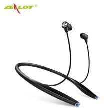 цена на Zealot H7 Wireless Earphones Neckband Bluetooth Headset In-ear Earphones For IPhone Magnet Earpiece 2 In 1 With Microphone New