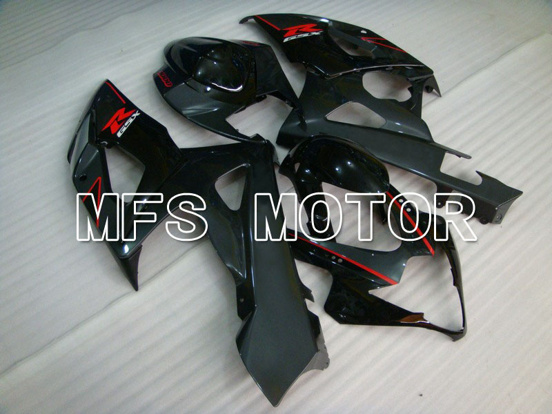 For Suzuki GSXR 1000 K5 2005 2006 Injection ABS Fairing Kits GSXR1000 K5 05 06 - Others - deep gray/Black injection molding custom for 2005 suzuki gsxr 1000 fairings k5 2006 gsxr 1000 fairing 05 06 glossy black flat gray dw16