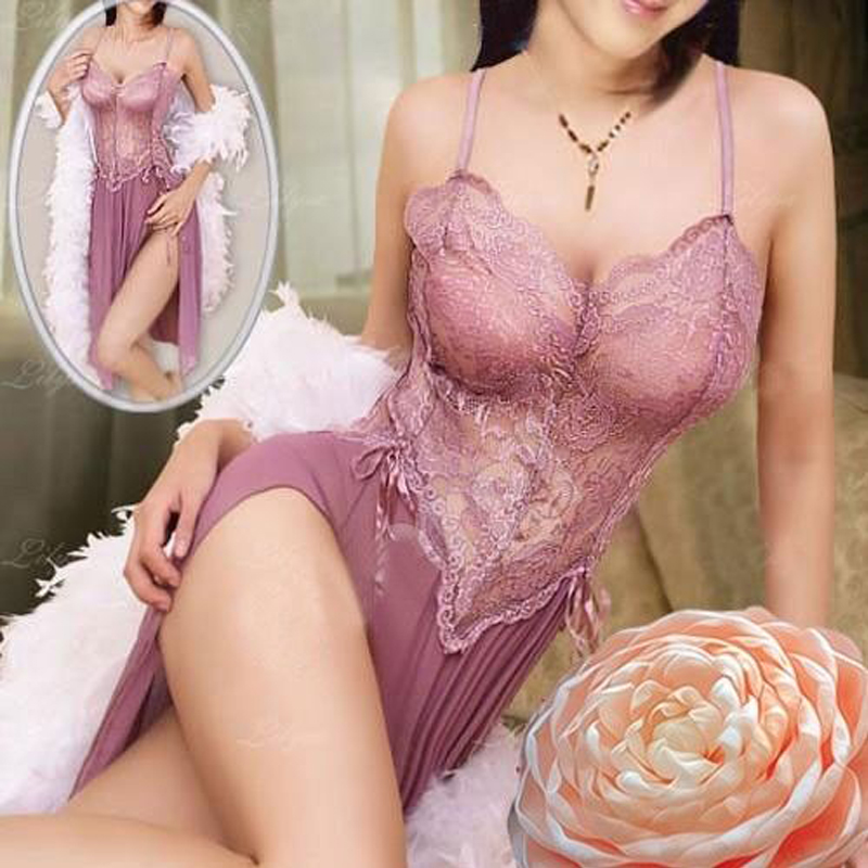 <font><b>sexy</b></font> <font><b>Lingerie</b></font> Sleepwear <font><b>Women</b></font> chiffon summer Hot&<font><b>Sexy</b></font> <font><b>Ladies</b></font> <font><b>Babydoll</b></font> G-string Underwear Night Dress 2019 <font><b>Fashion</b></font> image