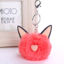 Buy cat fluffy faux fur ball and get free shipping on AliExpress.com f1015d2d62c53