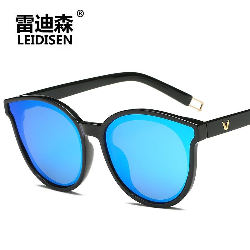 bf4aecb48 Comprar LEIDISEN gafas polarizadas gafas de sol Vintage mujer gafas de sol  marca diseñador mujer gafas sombra gafas estilo UV400 Online Baratos