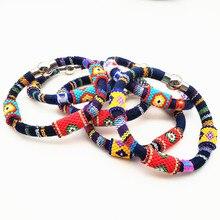 Go2boho 2019 Evil Eye Bracelet Perles Miyuki Bracelets For Women Bileklik Bohemian Colorful Jewelry Pulseras Mujer Moda Handmade