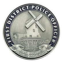 Factory Price Brass Police Officer Challenge Coins as Promotion Gifts