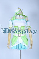 Love Live! 2 Hoshizora Rin Dress SJ Christmas Cute Lolita Anime Party Uniforms Cosplay Costume Custom-made Any Size NEW