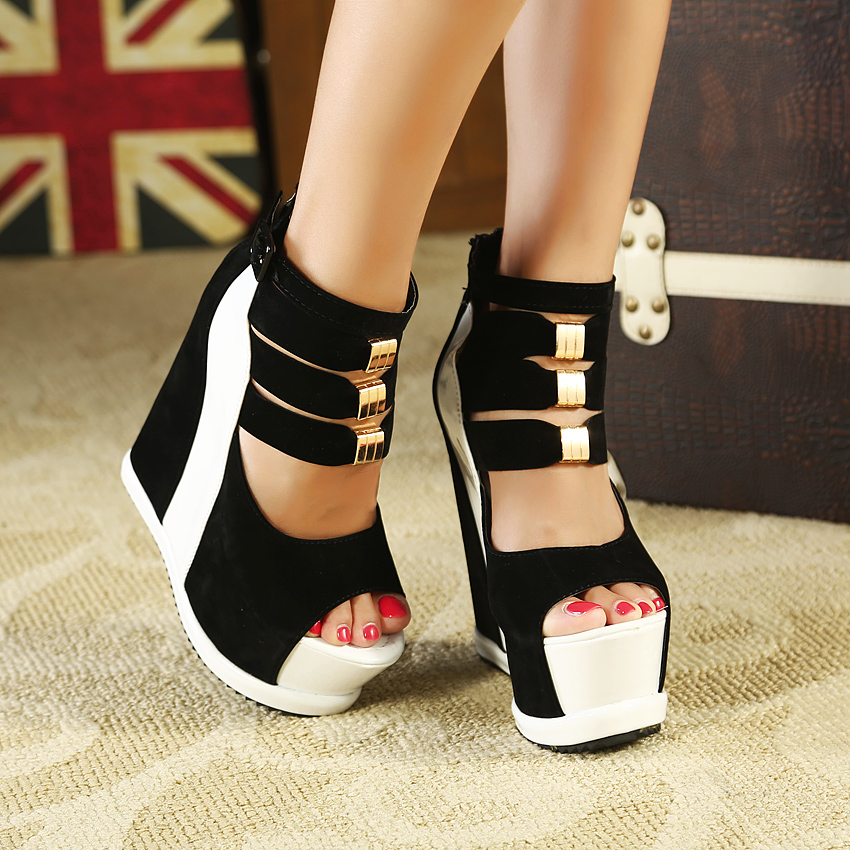 Thick Wedge Heels