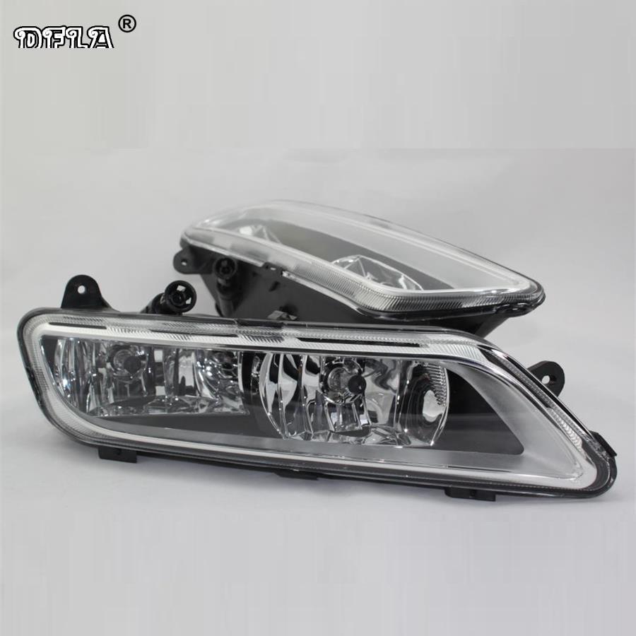 Car Light For VW Passat B7 2011 2012 2013 2014 2015 Car-Styling Front Halogen Fog Lamp Fog Light