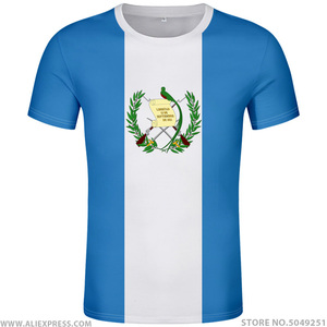 GUATEMALA t shirt diy free custom name number gtm t-shirt nation flag country guatemalan spanish college print photo gt clothing(China)