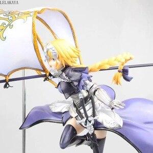 Image 2 - 1pcs Anime Fate Grand Order Jeanne DArc Figure Ruler 7 generation Fate Apocrypha Ruler Joan of Arc 1/7 pvc action figure model