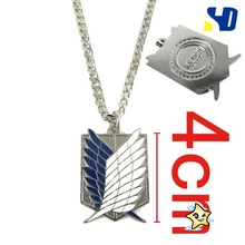 Attack On Titan Survey Corps Necklace (4 CM)