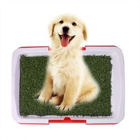 ペット犬メッシュペットトイレトレイ猫パッド屋内ペットトイレトイレ子犬おしっこトレーニングクリーンポッ
