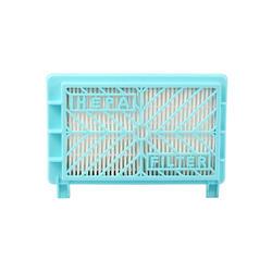 145*90*24 мм синий пылесос HEPA фильтр для FC8617 FC8619 FC8714 FC8716 HR8569/B HR8569 /HR8568/E пылесос Запчасти