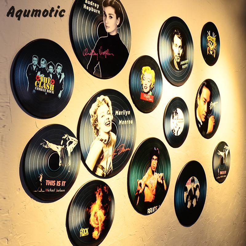 Unusual Vinyl Records Wall Art Contemporary - Wall Art Design ...