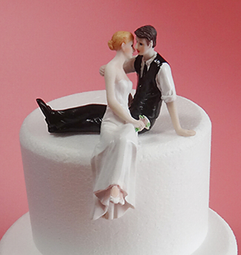 Hot Sale Bride And Groom Side Sit Embracing Wedding Props Cake Topper High Grade Resin Crafts Party Cake Stand Stand Mirror Stand Storecraft Figures Aliexpress