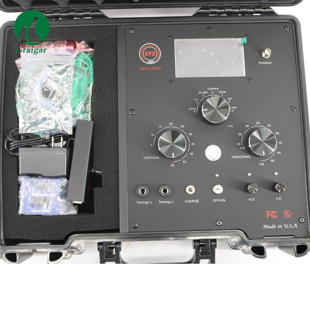 EPX-10000 nouvelle Version numérique fréquence Radar à distance détecteur de métaux souterrain
