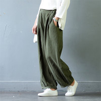 SCUWLINEN 2017 Women Pants