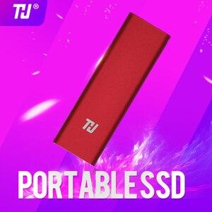 Image 1 - 128G Tragbare SSD Externe HDD Solid State Drive 64GB 128GB 256GB 512GB 1TB Tragbare SSD USB 3,0 400 MB/s für PC Laptop Notebook