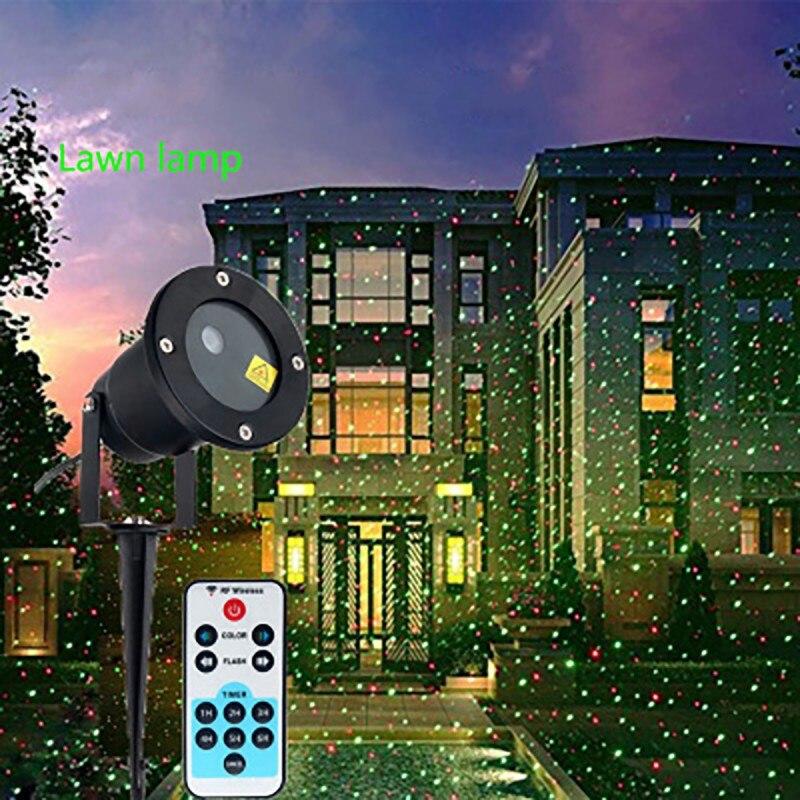 LED Night Light Outdoor Waterproof Laser Sky Star Light Projector Home Garden Lawn Landscape Wedding Decoration Children's Gifts