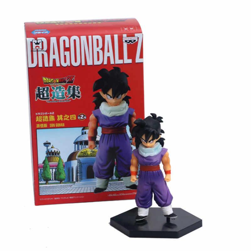 2 pçs/set Dragon Ball Z Gohan & Piccolo Cloakd Batalha Ver. Bick Escova DBZ Saiyan Goku PVC Figura Coleção Modelo