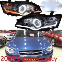 Автомобильный Стайлинг для Subaru Legacy фары HID xenon 2009y светодиодный DRL Противотуманные фары для Legacy фары