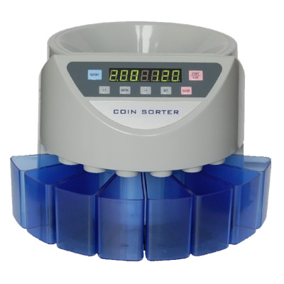 Electronic coin sorter coin counter counting machine custom made for countries display the total value and quantity цена