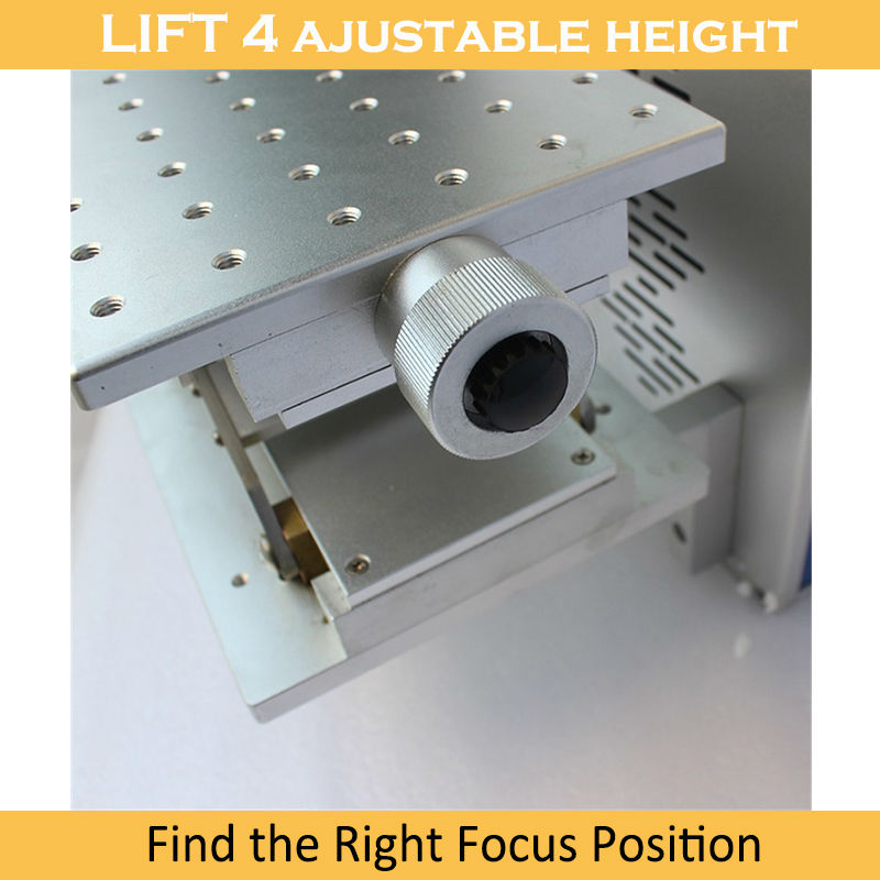 Tasuta kohaletoimetamine Lasermarker 20W kiudoptiline 4. pöörleva - Puidutöötlemisseadmed - Foto 4
