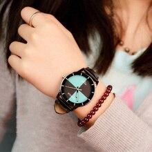 Fashion Woman Watches 2019 Leather Casual Retro Ladies Quartz Clock Designer For Women Creative Wristwatch reloj mujer