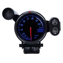 Defi 7 Colors 11000 RPM Stepper Motor with Shift Ligh 80mm DEFI BF Tachometer RPM Meter