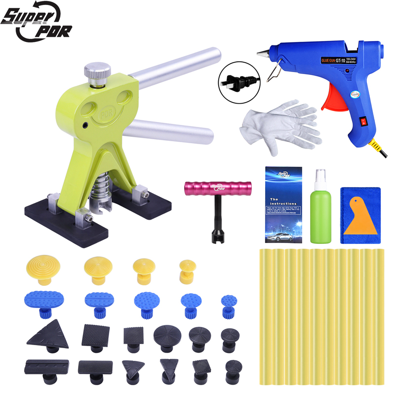 Super PDR Dent Pullers Suction Cup Glue Tabs Hot Adhesive Glue Sticks For Glue Gun Paintless Dent Repair Tools Auto Ferramentas pdr tools for car kit dent lifter glue tabs suction cup hot melt glue sticks paintless dent repair tools hand tools set