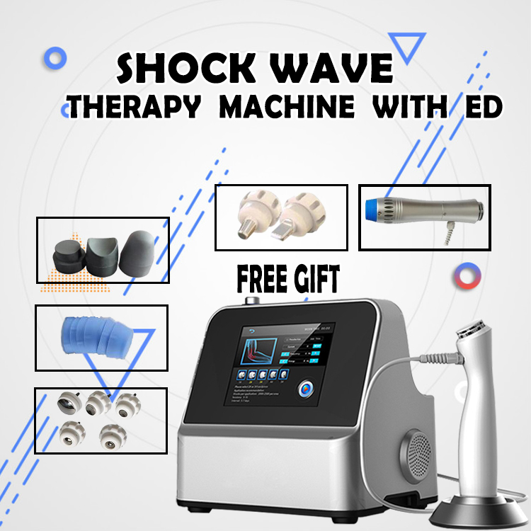 German Imported Compressor Unlimited Shots Shock Wave Machine Shockwave Therapy Machine Extracorporeal Shock Wave Equipment