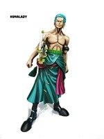 Figura de una Pieza Roronoa Zoro Figura MSP Zoro Figura Cómica Ver Luffy Sanji Zoro de Una Pieza Figura de Acción Santoryu