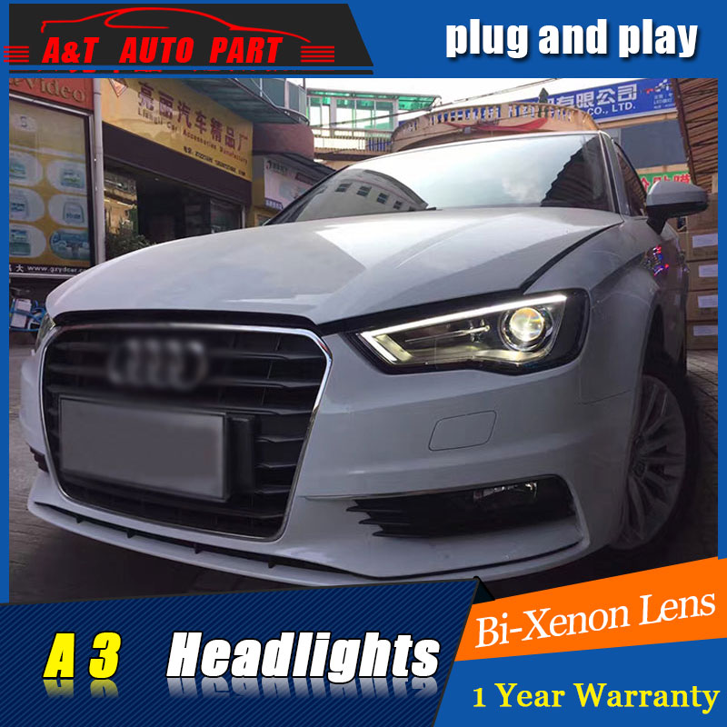 new front light car Styling LED Head Lamp for AUDI A3 led headlights 2014 2016 FOR
