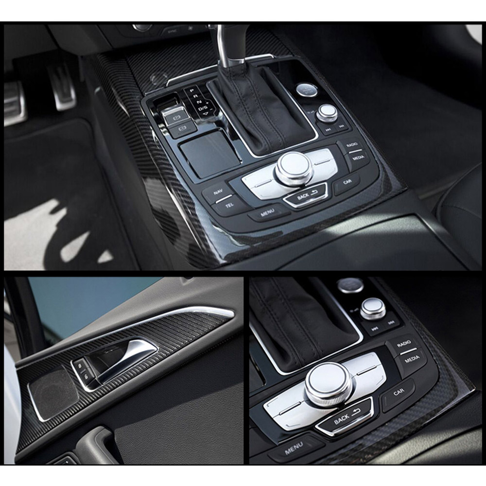 PVC 5D Carbon Fiber Vinyl Film High Gloss Ultra Shiny Car Wrap Roll Sticker