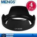 MENGS 4Pcs per pack LH-DC90 Petal Shape Lens Hood for PowerShot SX60 HS Camera(14140011001)