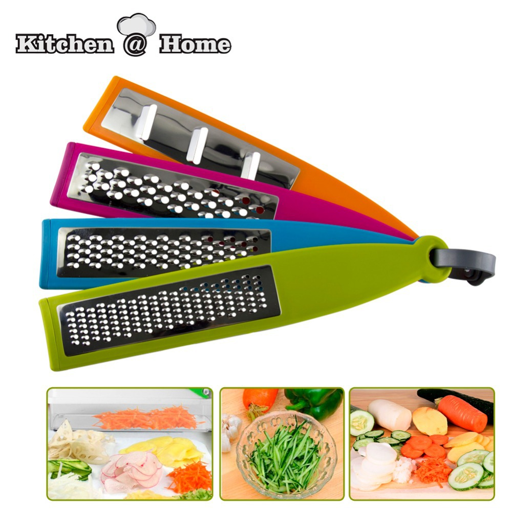 4PCS/set Multi-functional Colorful Grater&Slicer,Fruit&Vegetable Zesters,Shredders,Slicers,kitchen Tools KK034