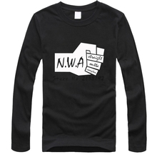 N.W.A. Men Women T-shirt Straight Outta Compton Movie Ice Cube Dr Dre Eazy E DJ Yella MC Ren Tee Rock Band Hip Hop T Shirt(China)