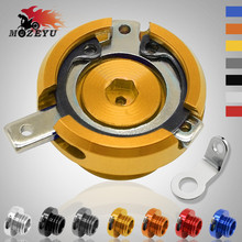 M20*2.5 Motorcycle Accessories Engine Oil Filler Cup Cap Reservoir For yamaha TMAX 530 DX SX 500 T-MAX T MAX