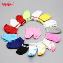 5Pair/lot Mini Sock Fit 43cm Baby 18 Inch Doll Clothes Accessories For Dolls Baby Best Christmas